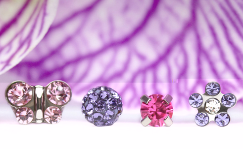 Jewelry Trends 2014: Studex Purple Collection – © Studex Europe